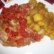 Cajun Smothered Pork Chops