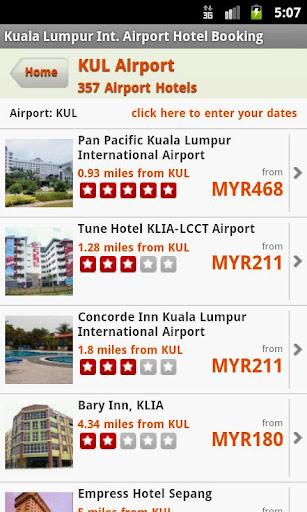 Hotels Near K.Lumpur Airport