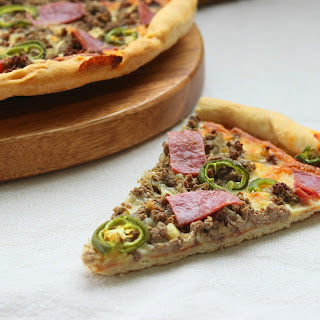 Beef and Chorizo Pizza