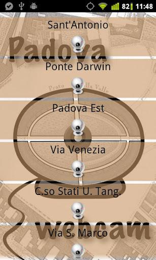 帕多瓦攝像頭