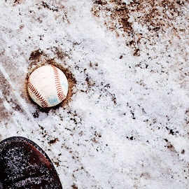 Baseball by Amarpreet K - Sports & Fitness Baseball ( winter, baseball, snow, sport,  )