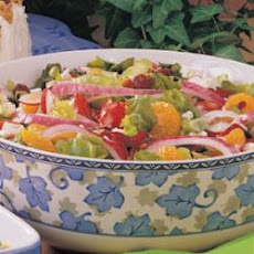 Colorful Mixed Salad