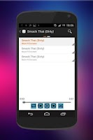 Screenshot of Clear MP3 Music Player Free