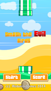 Smash The Evil Birds - screenshot