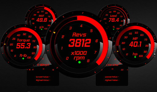 Torque Theme Pack 4 (OBD 2) - screenshot