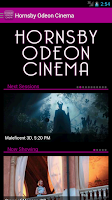 Screenshot of Hornsby Odeon Cinema