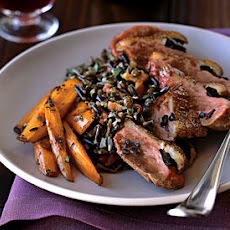 Roast Magret Duck Breasts with Shaved Black Truffles