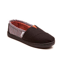 Toms Grey Houndstooth Classic SHOES