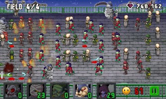 Screenshot of Monsters vs. Humans Games Free