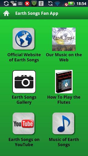 Earth Songs Fan App