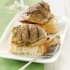 Pesto-Stuffed Grilled Chicken