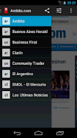 Screenshot of Neonews Chile