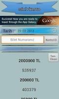 Screenshot of Milli Piyango Sonuçları