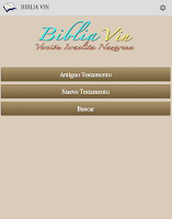 Screenshot of Biblia VIN 2011