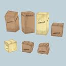 Cardboard boxes - varoius shapes