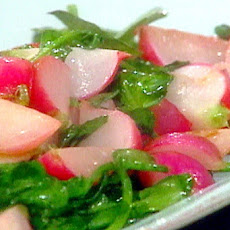 Sauteed Radishes and Watercress