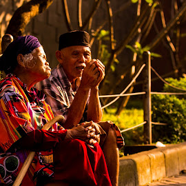 Old Beggars by Fuad Arief - People Street & Candids (  )