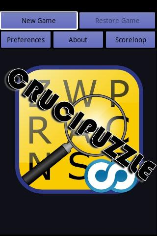 Crucipuzzle - word search