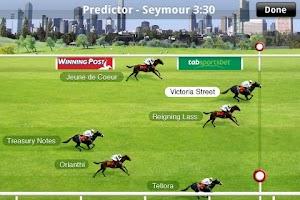 Screenshot of Racing Victoria