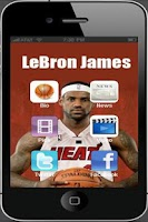 Screenshot of LeBron James