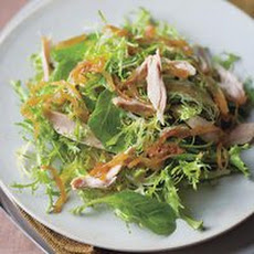 Roasted Chicken and Caramelized Onion Salad