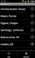 Screenshot of SolunarCast - Outdoor Forecast