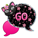 GO SMS - Kitty Flower Cat icon