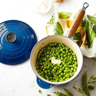 English Peas with Fresh Mint