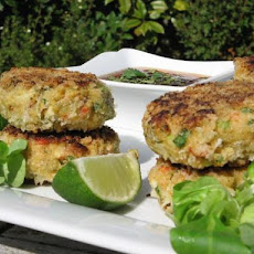 Russell's Thai Style Crab and Prawn Cakes