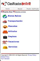 Screenshot of ClasificadosOnline