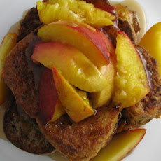 Bourbon Peach French Toast