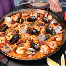 Paella Mixta (Paella with Seafood and Meat) Recipe