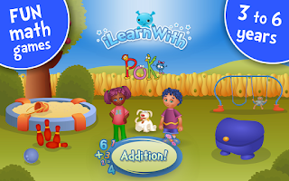Screenshot of Counting & Addition Kids Games