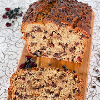 Chocolate Chip Cranberry Banana Bread
