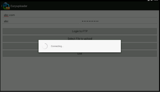 Easyuploader - screenshot