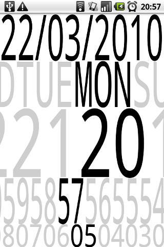 TimeSlider Live Wallpaper