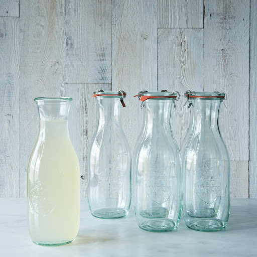 Weck Juice Jar 1 Litre (Set of 6)