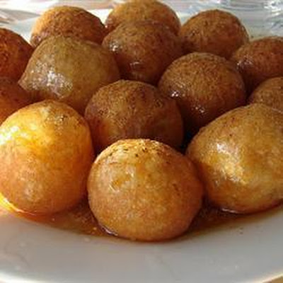 Loukoumades (Greek Honey Soaked Doughnuts)