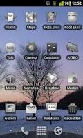 Screenshot of Honeycomb LPP BW Icon Pack