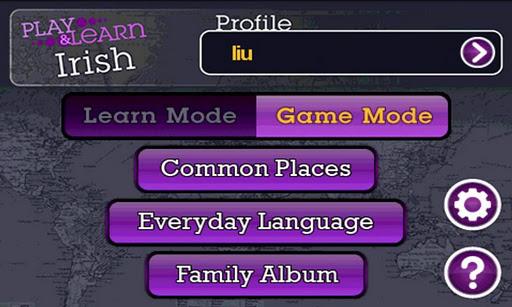 Play and Learn Irish