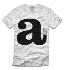 jeff sheldon typograhy tee shirt clothing apparel 2