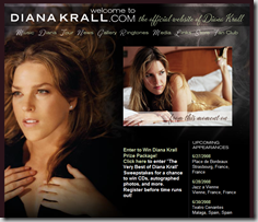 DianaKrall.com - The official website of Grammy winning jazz vocalist Diana Krall