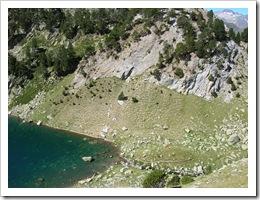 Lago de Alba desde el Bujerín