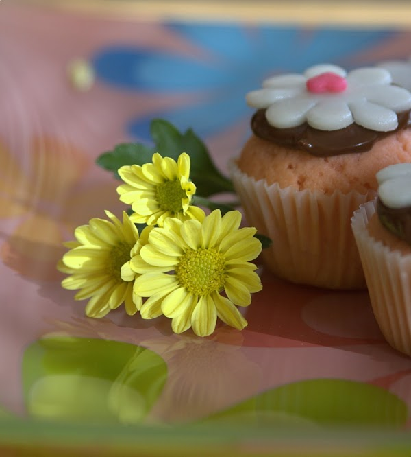 Mini ponquesitos (cupcakes) para Oriana