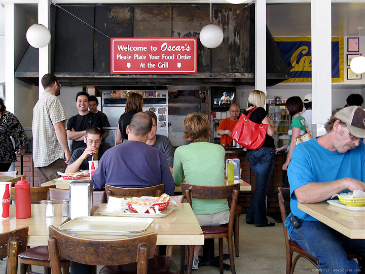 The line at the grill
