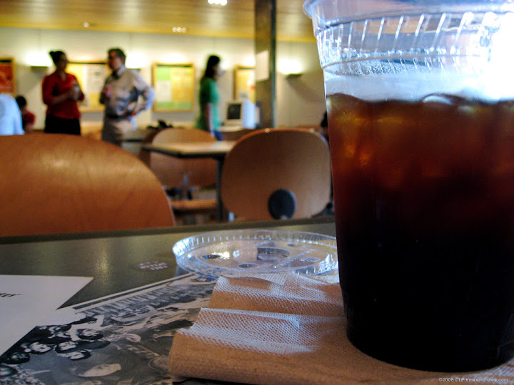 Iced americano at FSM