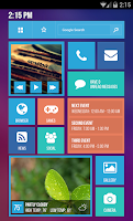 Screenshot of Tile UI Theme