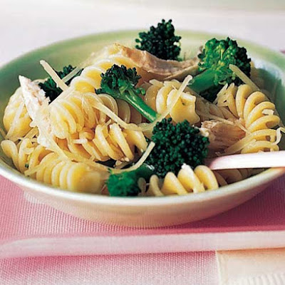 Fusilli With Broccoli and Chicken