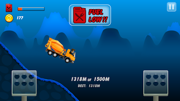 Screenshot of Hill Racing: mountain climb
