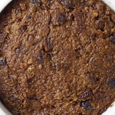 Figgy Christmas pudding